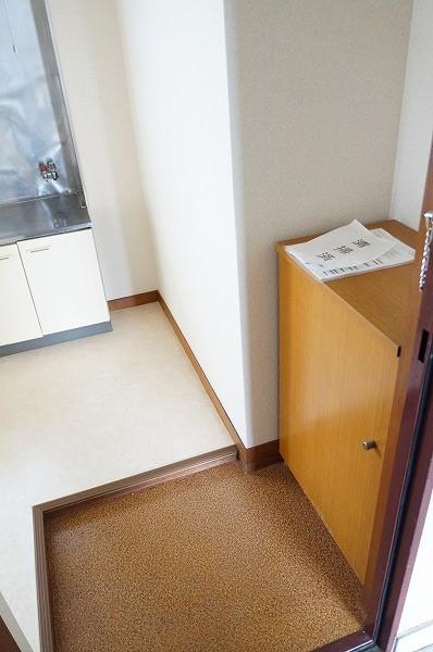 小谷田ビル 301号室の玄関