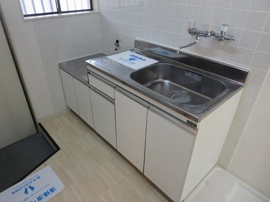 ベアコーポB 107号室のキッチン