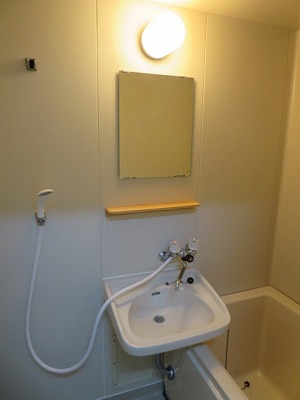 ベアコーポB 107号室の洗面所