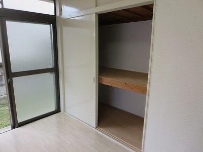ベアコーポB 107号室の収納