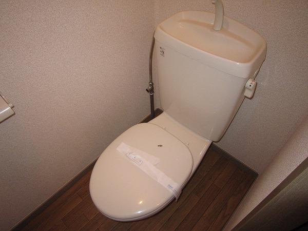 フォーレスト 103号室のトイレ