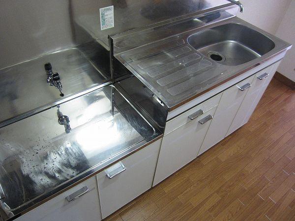 アメニティ ヒロ 2-A号室のキッチン