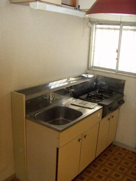 ハイツ昇栄 202号室のキッチン