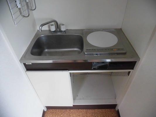 プロミネンスNENOYA 304号室のキッチン