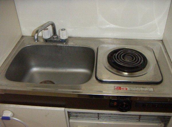 メゾン塚本 404号室のキッチン