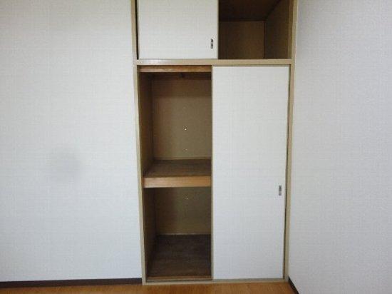 アビリティー桂 302号室の収納