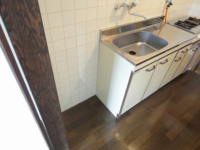 エスクワイヤーヴィヴィナリーⅠ 35号室のキッチン