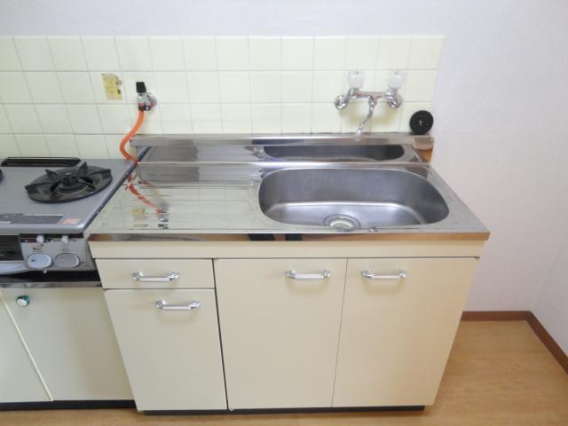グリーンハイツⅠ 205号室のキッチン