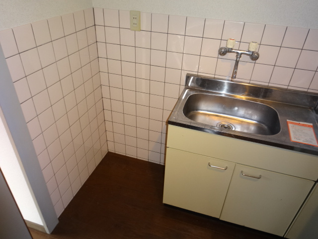 谷口ビル 22号室のキッチン