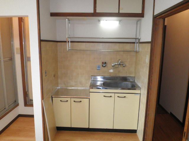池上コーポ 202号室のキッチン