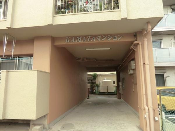 鎌田マンション 304号室のエントランス