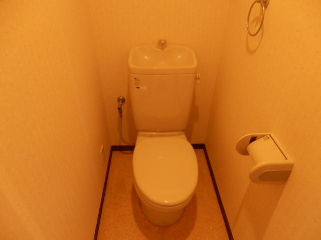 アプローズ 501号室のトイレ