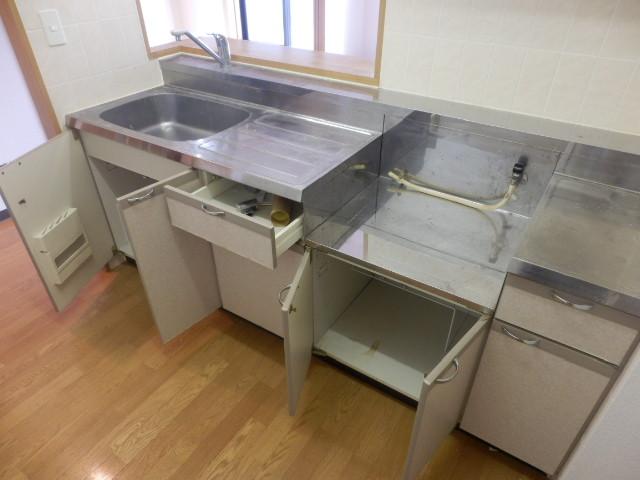 アプローズ 501号室のキッチン