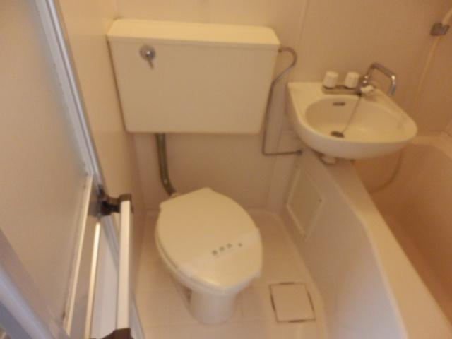 ラ メゾン ド ケイ 201号室のトイレ