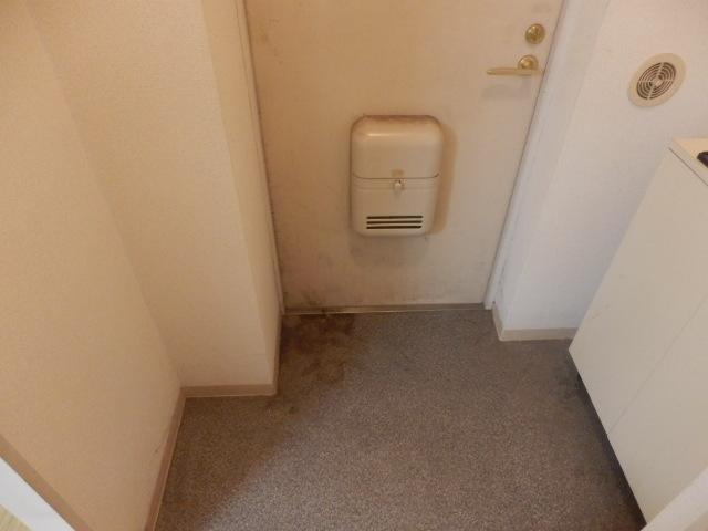 アランチォーネ 406号室の玄関