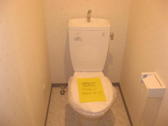 ルミナール 701号室のトイレ