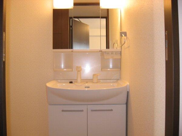 ルミナール 701号室の洗面所