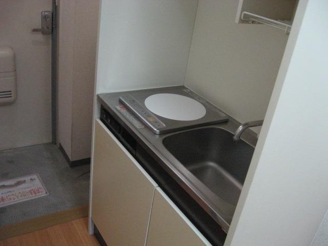 エクセルコート 105号室のキッチン