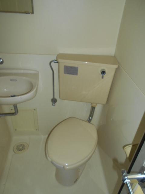 ハイムエスポワール 110号室のトイレ