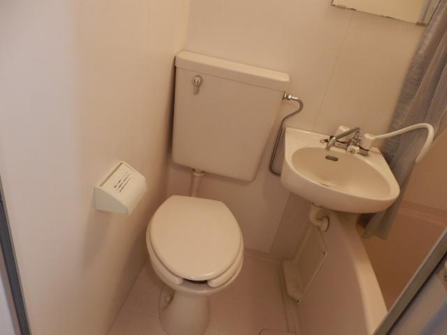 ドミトリー中浦和 210号室のトイレ