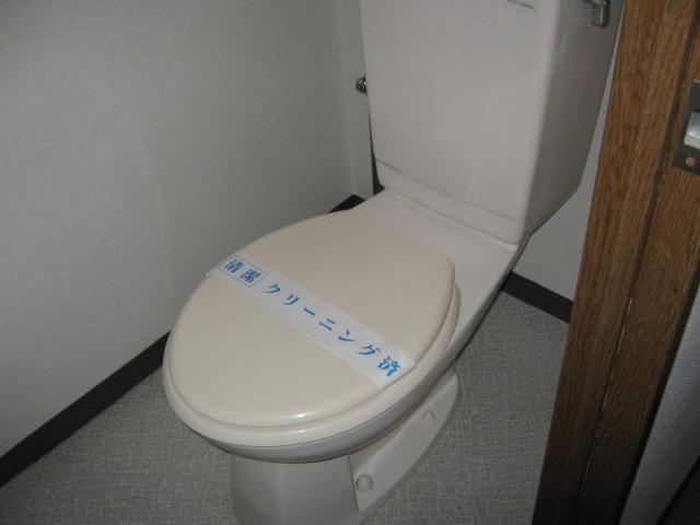 ベルデパルク 206号室のトイレ