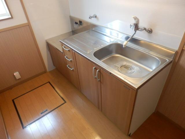 スタットアンクム B 103号室のキッチン