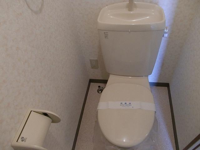 サンプレミア前芝西 207号室のトイレ
