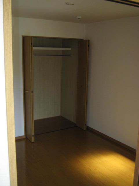 プリエール 202号室のベッドルーム