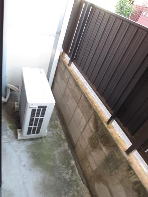 上野毛QSハイム 103号室のバルコニー