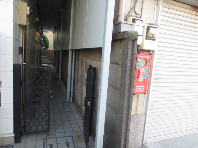 上野毛QSハイム 103号室のセキュリティ