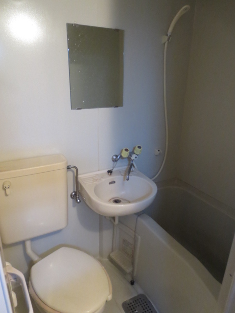 上野毛QSハイム 103号室の風呂