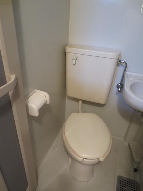 上野毛QSハイム 103号室のトイレ