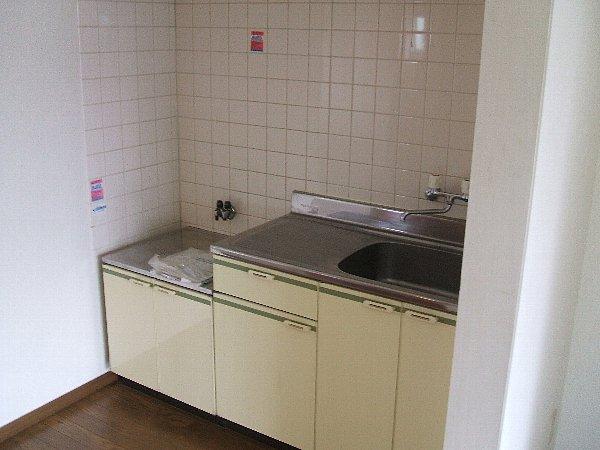 ハイム加陽 201号室のキッチン