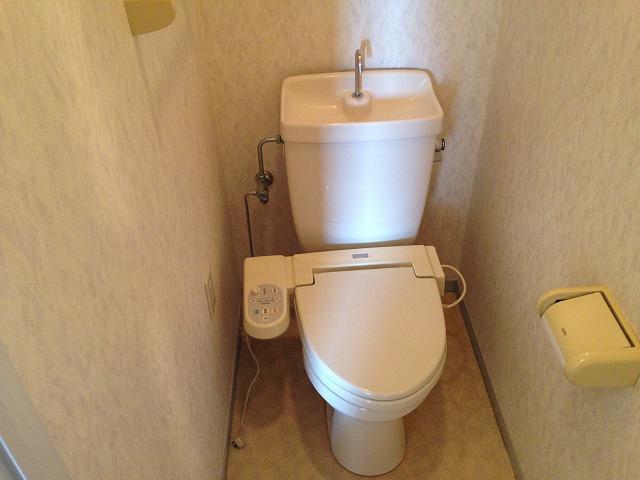 アビタシオン自由が丘 302号室のトイレ
