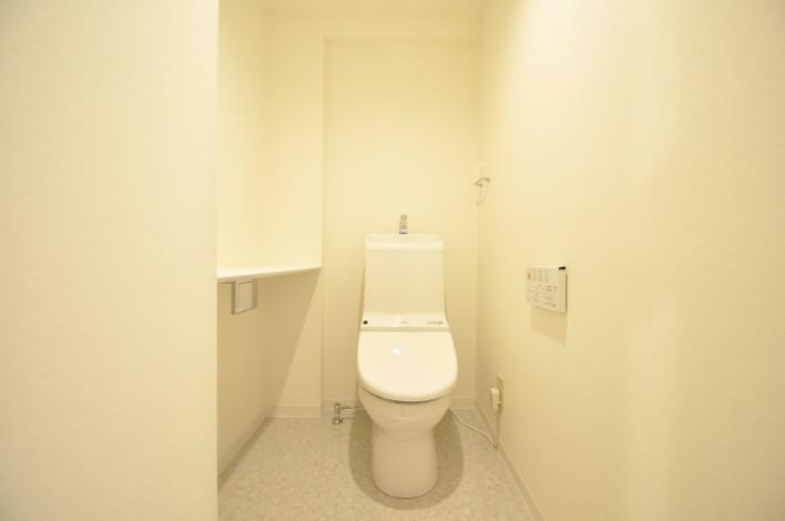 ハピネス飯田5号館 202号室のトイレ