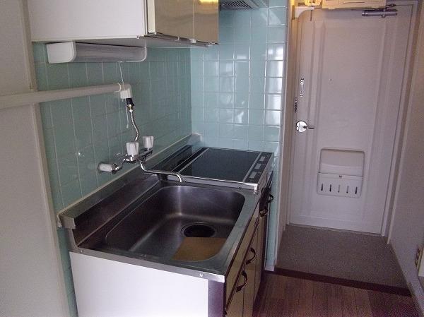 太子堂ハイム 602号室のキッチン