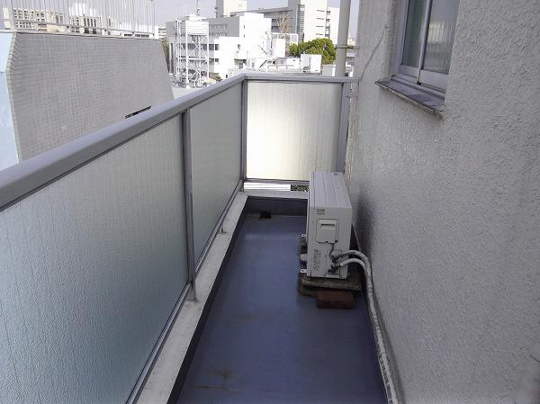 太子堂ハイム 602号室のバルコニー