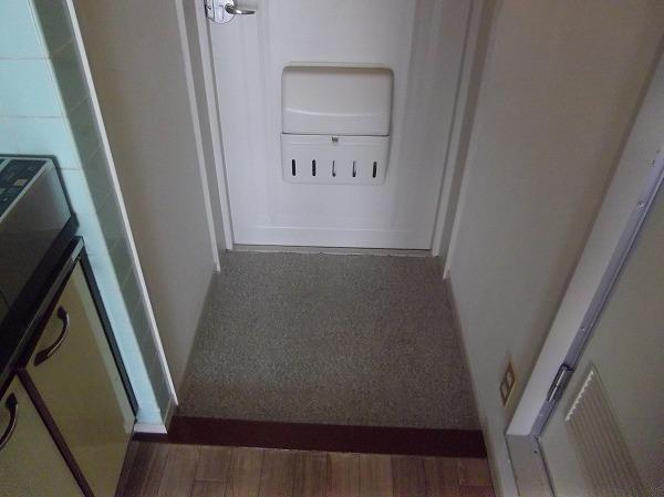 太子堂ハイム 602号室の玄関