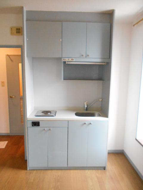 Mクワトロ 105号室のキッチン