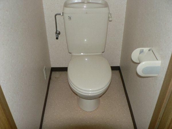 パセオ神里 2B号室のトイレ