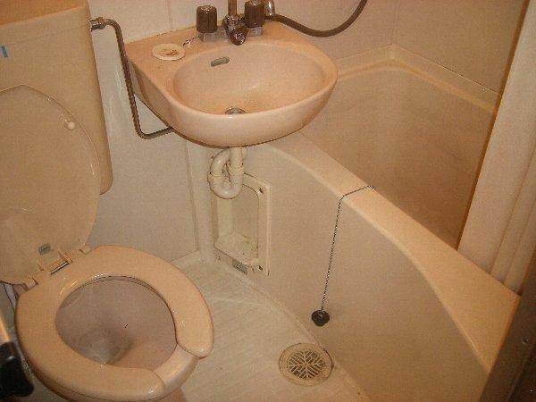 カーサ上社 105号室のトイレ