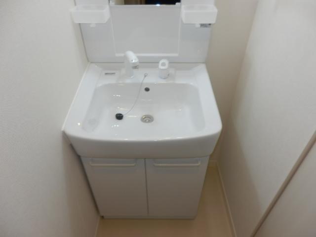 ガーデンコート真間Ⅱ-Fの洗面所