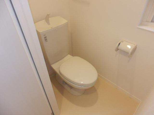 ガーデンコート真間Ⅱ-Fのトイレ