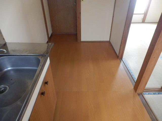 成光荘 203号室のキッチン