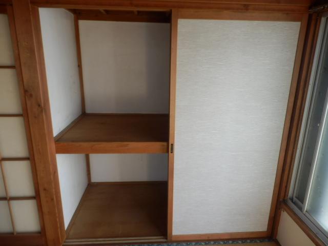 成光荘 203号室の収納