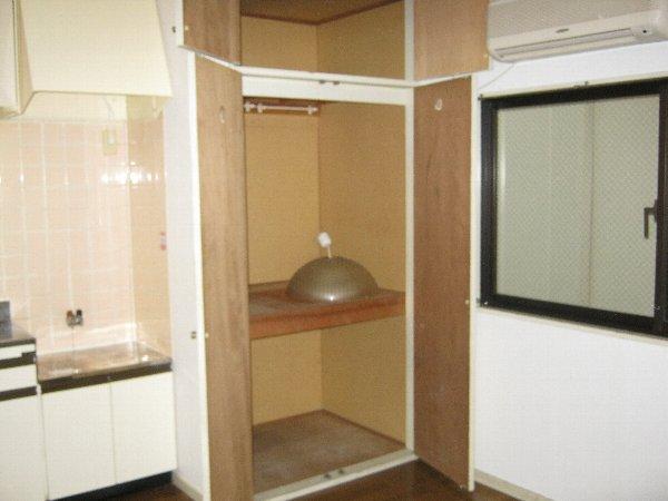 住吉パレス 102号室の収納