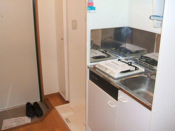エルシオン 105号室のキッチン