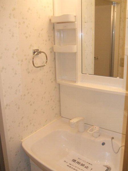 エルシオン 105号室の洗面所