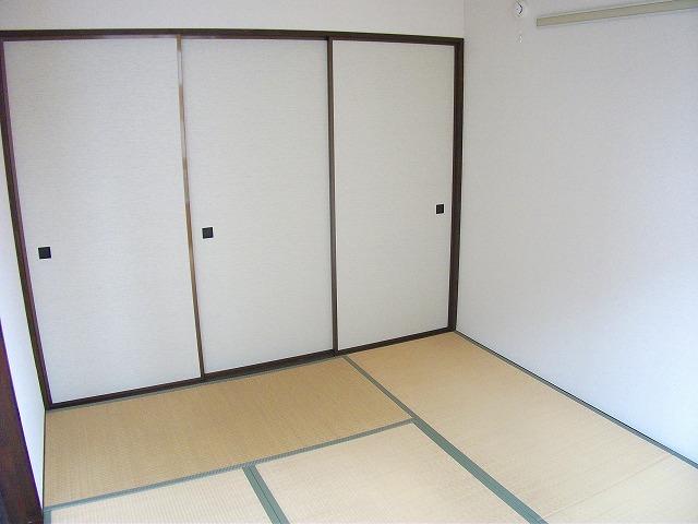 アビタシオンMIWA 101号室のベッドルーム