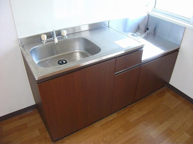 アビタシオンMIWA 101号室のキッチン